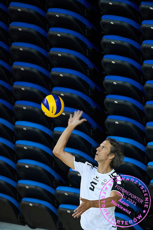 SO Germany athlete in action while Unified Volleyball match between SO Germany and SO USA New Jersey during sixth day of the Special Olympics World Games Los Angeles 2015 on July 30, 2015 at Pauley Pavilion at UCLA (University of California Los Angeles) in Los Angeles, USA.<br /> <br /> USA, Los Angeles, July 30, 2015<br /> <br /> Picture also available in RAW (NEF) or TIFF format on special request.<br /> <br /> For editorial use only. Any commercial or promotional use requires permission.<br /> <br /> Adam Nurkiewicz declares that he has no rights to the image of people at the photographs of his authorship.<br /> <br /> Mandatory credit:<br /> Photo by &copy; Adam Nurkiewicz / Mediasport