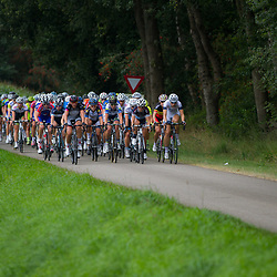Boels Rental Ladies Tour  peloton during 1th stage Roden