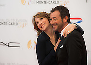Genie Godula and Bernard Montiel attend the opening ceremony of the 54th Monte Carlo TV Festival at the Grimaldi Forum on June 7, 2014 in Monte-Carlo, Monaco.
