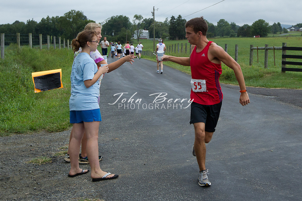 August/27/11:  Second Annual Madison Fun Run.  Hebron Valley, Madison, VA.  106 finishers, ages from 7-90.  Fastest male Drew Kelliher at 28:14.  Fastest female Laura Jeminez at ?.