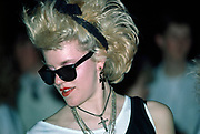 A Madonna lookalike in 80's styles, The Studio Club, Bristol 1985
