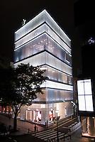Dior store in Omote-Sando dori.<br /> SANAA architects, Tokyo.
