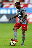 MOSCOW, RUSSIA - MAY 05: Manuel Fernandes of FC Lokomotiv Moscow in action during the Russian Football League match between FC Lokomotiv Moscow and FC Zenit Saint Petersburg at RZD Arena on May 5, 2018 in Moscow, Russia.