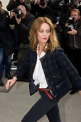 Vanessa Paradis during Karl Lagerfeld's Fall/Winter 2013/2014 ready-to-wear fashion show for French fashion house Chanel in Paris, FranceFall/Winter 2013/2014 ready-to-wear fashion show for French fashion house Chanel in Paris, France,  March 5, 2013. Photo by Imago / i-Images...UK ONLY..Contact..Andrew Parsons: 00447545 311662.Stephen Lock: 00447860204379