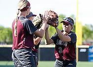 April 15, 2016: The Rogers State University Hillcats play against the Oklahoma Christian University Lady Eagles at Tom Heath Field at Lawson Plaza on the campus of Oklahoma Christian University.