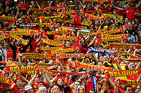 Supporters Belgique - 07.06.2015 - France / Belgique - Match Amical<br /> Photo : Dave Winter / Icon Sport
