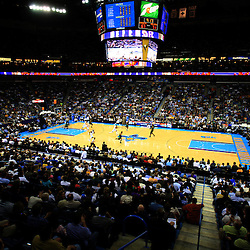 11 February 2009:  The New Orleans Hornets had their 11th sellout of the season against the Boston Celtics at the New Orleans Arena in New Orleans, LA.