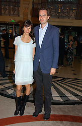 FRITZ VON WESTENHOLZ and CAROLINE SIEBER at a party to celebrate the opening of The Bar at The Dorchester, Park Lane, London on 27th June 2006.<br />