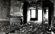 Burned out apartment, Amsterdam Staatsliedenbuurt