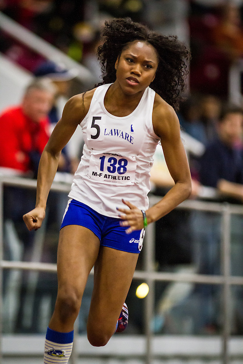 ECAC Indoor Track & Field Championships:  womens 200 prelims, Latazah Coleman, University of Delaware Latazah Coleman, sprints, University of Delaware