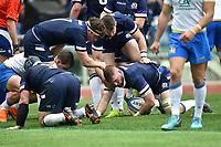 John Barclay Scotland celebrates a try. Esultanza Meta <br /> Roma 17/03/2018, Stadio Olimpico <br /> NatWest 6 Nations Championship <br /> Trofeo Sei Nazioni <br /> Italia - Scozia / Italy - Scotland <br /> Foto Andrea Staccioli / Insidefoto