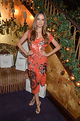 ALICIA ROUNTREE at the UK launch of WhoWhatWear UK held at Loulou's, Hertford Street, London on 24th November 2015.