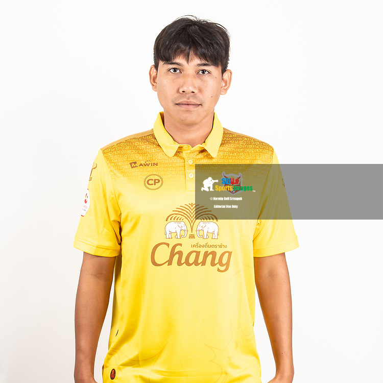 THAILAND - JUNE 29: Ekkasit Chaobut #23 of Sukhothai FC on June 29, 2019.<br /> .<br /> .<br /> .<br /> (Photo by: Naratip Golf Srisupab/SEALs Sports Images/MB Media Solutions)