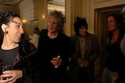 Andrea Levy, Germaine Greer and Ronnie Wood. South Bank Show Awards, The Savoy Hotel. London. 27 January 2005. ONE TIME USE ONLY - DO NOT ARCHIVE  © Copyright Photograph by Dafydd Jones 66 Stockwell Park Rd. London SW9 0DA Tel 020 7733 0108 www.dafjones.com