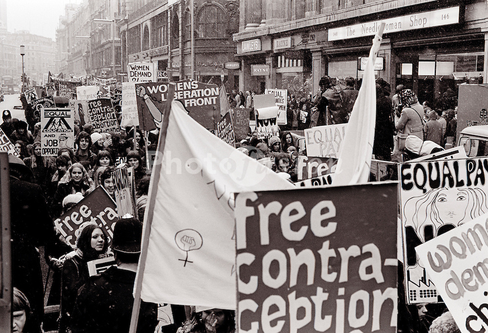 Women's march Saturday 6th March 1971