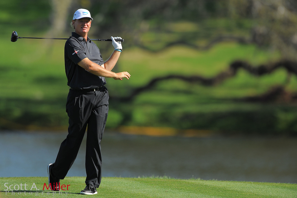 Ernie Els during the first round of the Arnold Plamer Invitational at the Bay Hill Club and Lodge on March 22, 2012 in Orlando, Fla. ..©2012 Scott A. Miller.