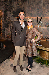MARK-FRANCIS VANDELLI and ELIZABETH ESTEVE at the PAD London 10th Anniversary Collector's Preview, Berkeley Square, London on 3rd October 2016.