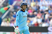 Joe Root of England during the ICC Cricket World Cup 2019 match between England and Bangladesh the Cardiff Wales Stadium at Sophia Gardens, Cardiff, Wales on 8 June 2019.