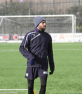 Dundee&rsquo;s Faissal El Bakhtaoui - Dundee FC training ahead of the visit to Motherwell at GA Arena, Dundee.Photo: David Young<br /> <br />  - &copy; David Young - www.davidyoungphoto.co.uk - email: davidyoungphoto@gmail.com