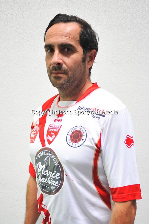 Nicolas DELPAL - 16.09.2014 - Photo officielle Nimes - Ligue 2 2014/2015<br /> Photo : Icon Sport