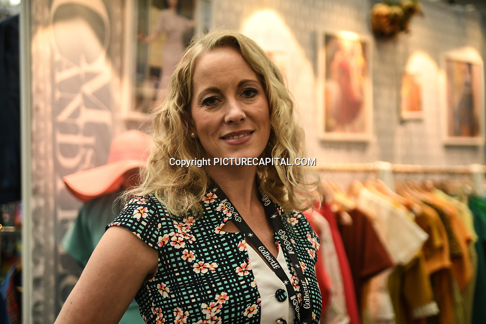 London, UK. 16th February, 2020. Hundreds of stalls at the LondonEdge 2020 | Authentic Lifestyle Fashion Trade Shows and exhibition and Fashion show at Business Design Centre.