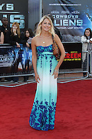 Ali Bastian Cowboys & Aliens UK Premiere, The O2, London, UK, 11 August 2011:  Contact: Rich@Piqtured.com +44(0)7941 079620 (Picture by Richard Goldschmidt)