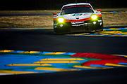 June 13-18, 2017. 24 hours of Le Mans. 91 Porsche GT Team, Porsche 911 RSR, Richard Lietz, Frederic Makowiecki, Patrick Pilet