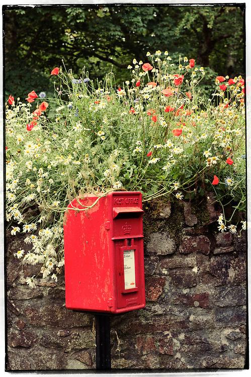 Letter box, Jura, Scotland