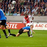 NLD/Amsterdam/20060823 - Ajax - FC Kopenhagen, afstandschot van Ryan Babel