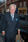 Sir Benjamin Slade, Pimlico Rd. Jubilee streetparty. London. 29 May 2012.