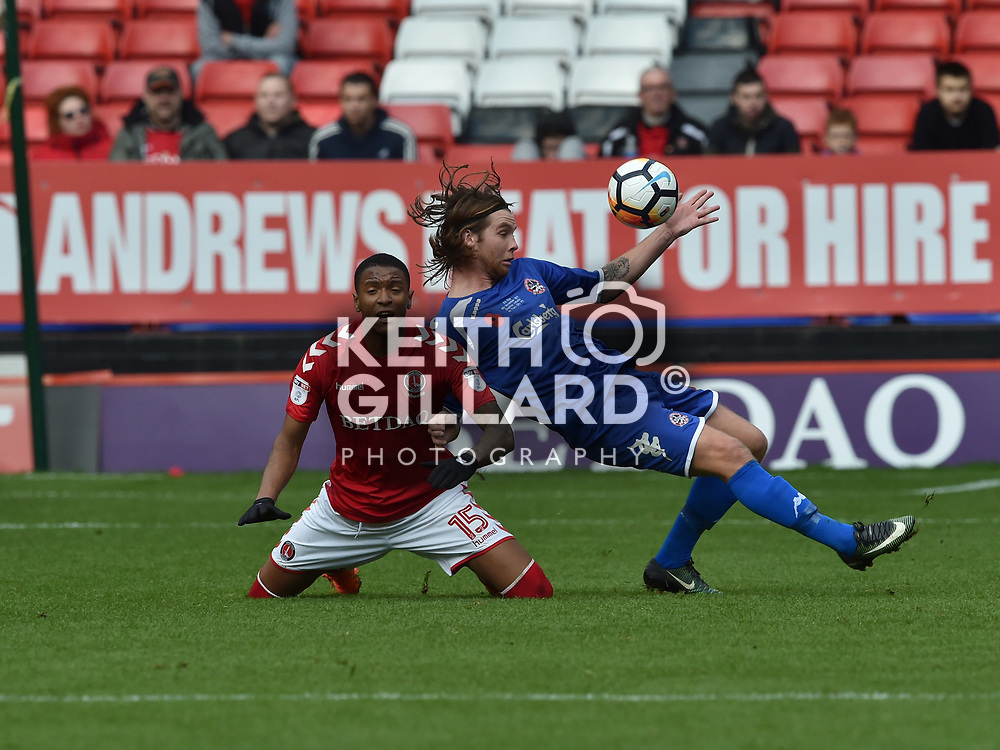 Charlton Athletic v Truro City, Emirates FA 1st Round, The Valley, 5 November  2017. <br /> <br /> <br /> Image by Keith Gillard