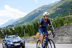 Anouska Koster (NED) during Stage 6 of 2019 Giro Rosa Iccrea, a 12.1 km individual time trial from Chiuro to Teglio, Italy on July 10, 2019. Photo by Sean Robinson/velofocus.com