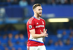 May 8, 2017 - Chelsea, Greater London, United Kingdom - Calum Chambers of Middlesbrough .during Premier League match between Chelsea and Middlesbrough at Stamford Bridge, London, England on 08 May 2017. (Credit Image: © Kieran Galvin/NurPhoto via ZUMA Press)