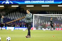 02.06.2017 - Cardiff - Finale di Champions League, allenamento e conferenza stampa di vigilia -  Juventus-Real Madrid nella  foto: Massimiliano Allegri