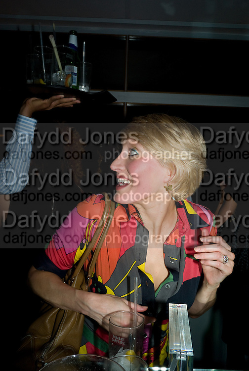 ISABELLA MACPHERSON, Celebrate the second guest editors issue. Pre-launch of  Paramount at Centrepoint.London 16 September 2008. *** Local Caption *** -DO NOT ARCHIVE-© Copyright Photograph by Dafydd Jones. 248 Clapham Rd. London SW9 0PZ. Tel 0207 820 0771. www.dafjones.com.