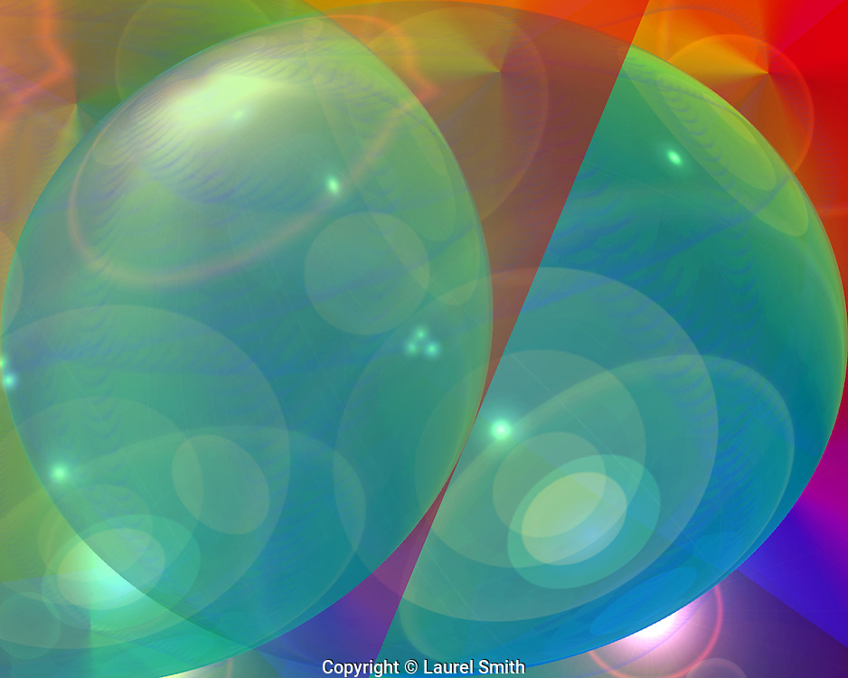 Symphony of Light #84 ~ Wandering Into Other Worlds ~ © Laurel Smith