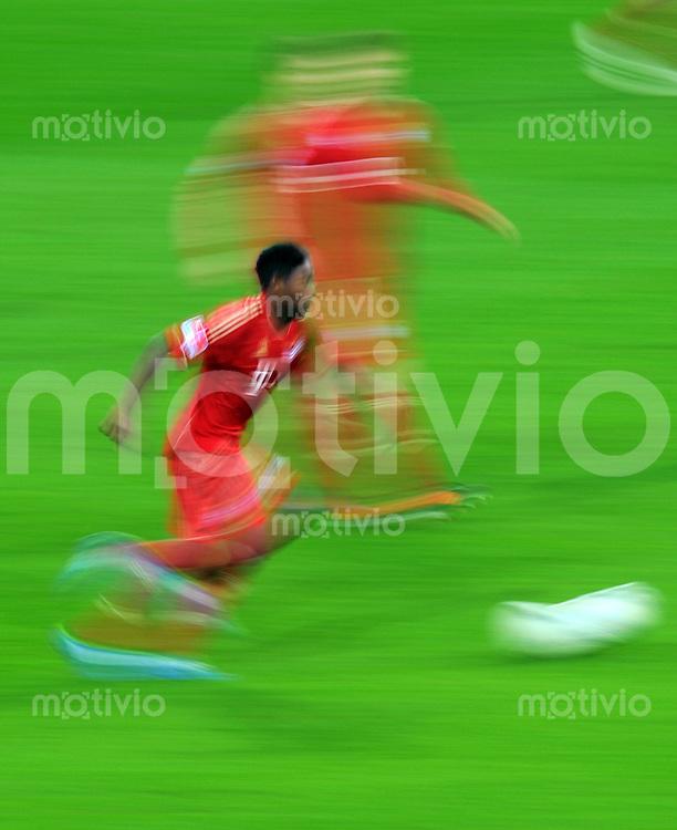 FUSSBALL   1. BUNDESLIGA  SAISON 2011/2012   13. Spieltag FC Bayern Muenchen - Borussia Dortmund        19.11.2011 David Alaba (FC Bayern Muenchen)