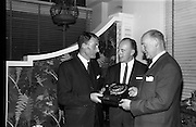 30/6/1964<br /> 6/30/1964<br /> 30 June 1964<br /> <br /> Mr. Michael Delany Managing Director Slainte Mineral Water, Mr J.L. Leech Managing Director Pepsi, and J.J. Dowell Chair Slainte Mineral Water