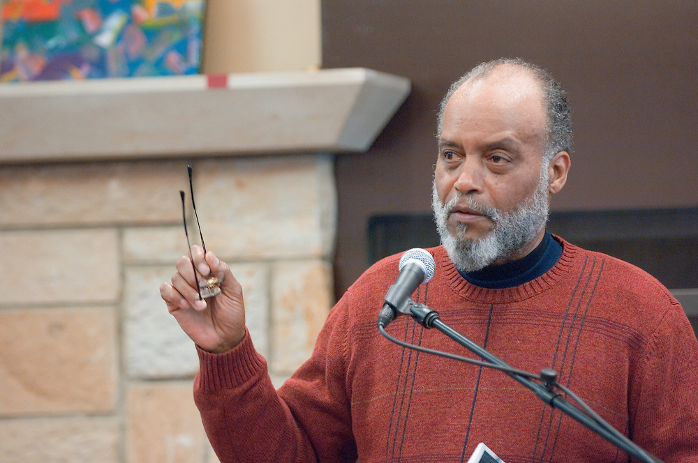 Day in the life of Baker Center..Poet Everett Hoagland