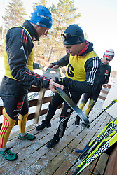 Behind the scenes, GER, Middle Distance Cross Country, 2015 IPC Nordic and Biathlon World Cup Finals, Surnadal, Norway