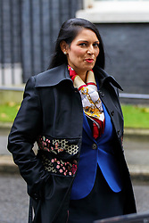 © Licensed to London News Pictures. 15/11/2016. London, UK. International Development Secretary PRITI PATEL attends a cabinet meeting in Downing Street on Tuesday, 15 November 2016. Photo credit: Tolga Akmen/LNP