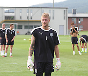 Scott Bain during Dundee pre-season training at GLOBALL Football Park, Budapest, Hungary<br /> <br />  - &copy; David Young - www.davidyoungphoto.co.uk - email: davidyoungphoto@gmail.com
