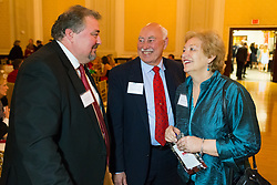 Guest of Honor and Courier-Journal Publisher Wes Jackson talks with his mother Rebecca, right, and father Ralph Jackson at The Crimson Mission Gala, Saturday, March 04, 2017 at the Henry Clay in Louisville.<br /> <br /> The Crimson Mission, Inc. is an independent, non-profit organization that has been established to raise contributions to provide financial assistance to duPont Manual High School and the Youth Performing Arts School (YPAS) in Louisville, KY. <br /> <br /> Incorporated in 2015, the Crimson Mission, Inc.&rsquo;s sole purpose is make duPont Manual High School a national model of excellence by raising and allocating resources to support and enhance our mission. <br /> <br /> The Crimson Mission, Inc. is a diverse, enthusiastic and committed organization that is appropriately structured and financially viable to fulfill the mission of making duPont Manual High School an national model of excellence.