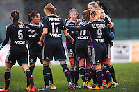 Joie groupe Lyon  - 03.12.2014 - Saint Etienne / Lyon - 11eme journee de Division 1<br /> Photo : Thomas Pictures / Icon Sport