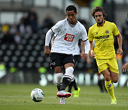 Derby County's Tom Ince on the ball - Mandatory by-line: Robbie Stephenson/JMP - 07966386802 - 29/07/2015 - SPORT - FOOTBALL - Derby,England - iPro Stadium - Derby County v Villarreal CF - Pre-Season Friendly