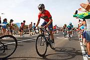 Ion Izagirre (ESP - Bahrain - Merida), during the UCI World Tour, Tour of Spain (Vuelta) 2018, Stage 9, Talavera de la Reina - La Covatilla 200,8 km in Spain, on September 3rd, 2018 - Photo Luca Bettini / BettiniPhoto / ProSportsImages / DPPI