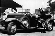 WALTER HAGEN-GOLFER- IN THE EARLY 1930'S WITH FAST CAR <br /> <br /> Picture Credit: &copy;Visions In Golf / Michael Hobbs / Mark Newcombe