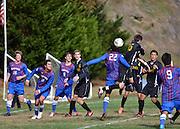NCAA Men's Soccer: Blue Hose defeat Keydets 2-1 in men's soccer.