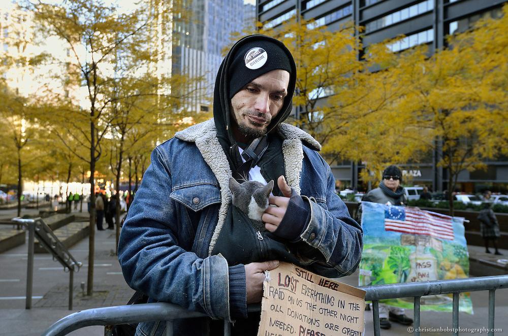 November 18, 2011, Zuccotti Park, NY