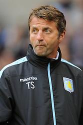 Aston Villa manager, Tim Sherwood - Mandatory by-line: Dougie Allward/JMP - 07966386802 - 28/07/2015 - SPORT - FOOTBALL - Wolverhampton,England - Molineux Stadium - Wolves v Aston Villa - Pre-Season Friendly